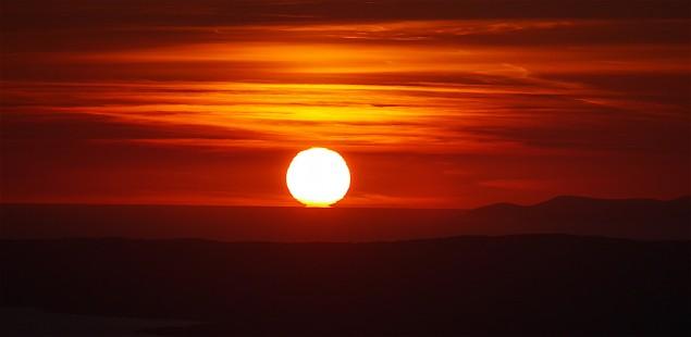 Sunset Dunmanus Bay