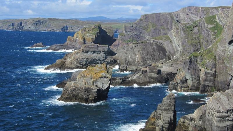 wandern an irlands wilder atlantik k ste irland news. Black Bedroom Furniture Sets. Home Design Ideas