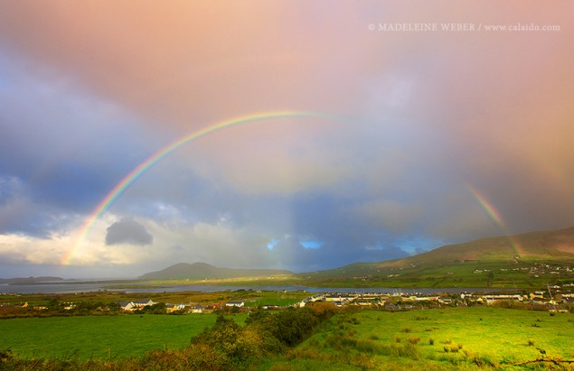 Mehr Regenbögen in Irland