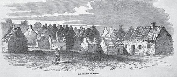 Zahlreiche Dörfer blieben verlassen zurück