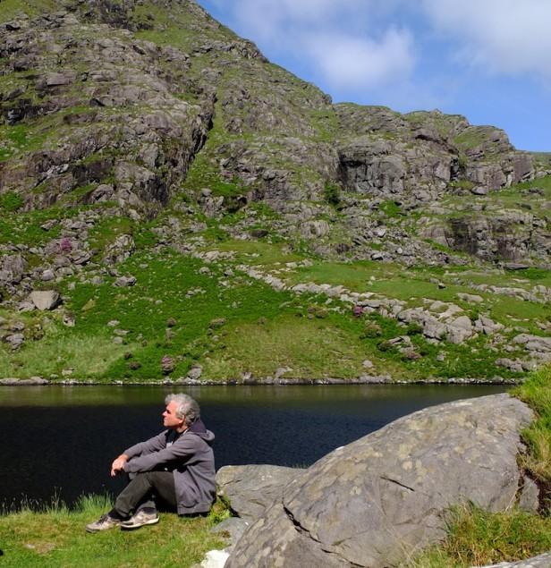 Richard Hofer genießt einen freien Augenblick im Killarney National Park