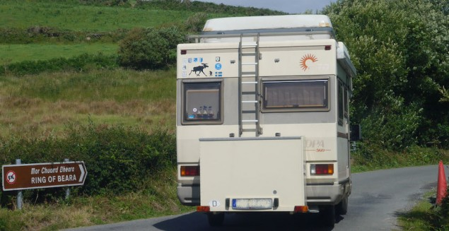 Wohnmobil in Irland
