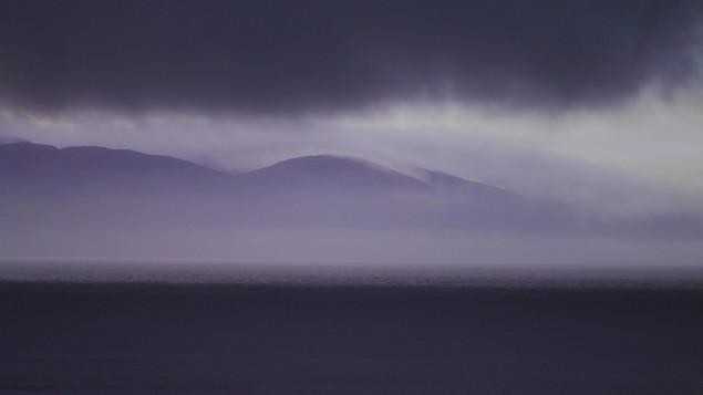 Nebel in Irland Samhain