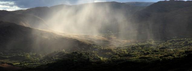Regen im Glen