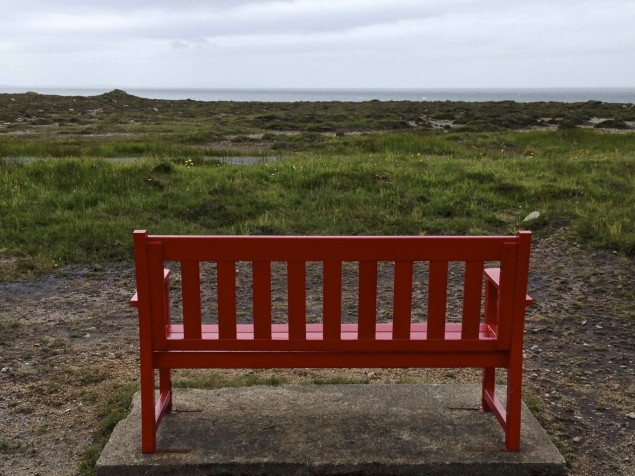 Bank auf Tory Island