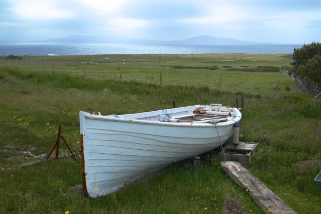 Boot auf Tory Island