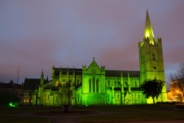 St. Patrick´s Cathedral in Dublin (Patrick´s Day Dublin)