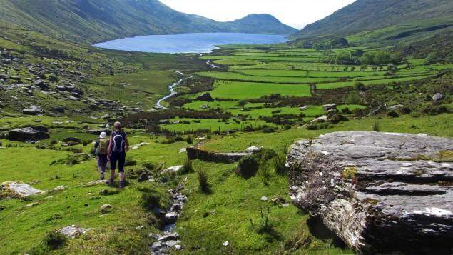 Berg-Wandern in Irland