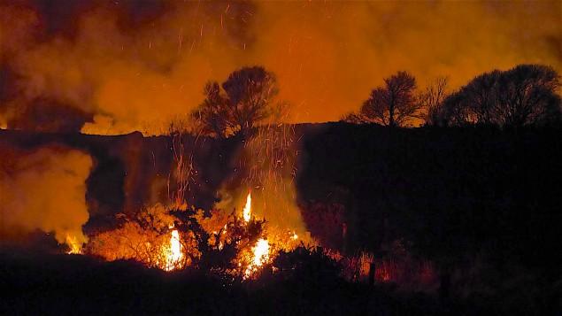 Feuer Irland