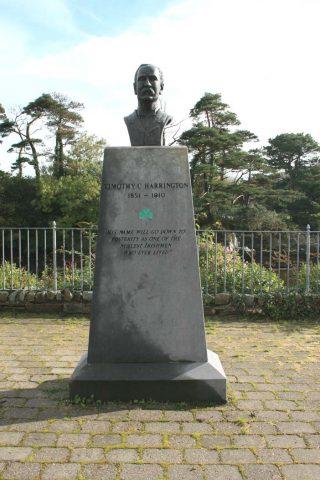 Denkmal für Timothy C. Harrington in Casteltownbere