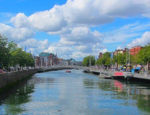 In Dublin regieren Abrissbirne, Baukran und Gier