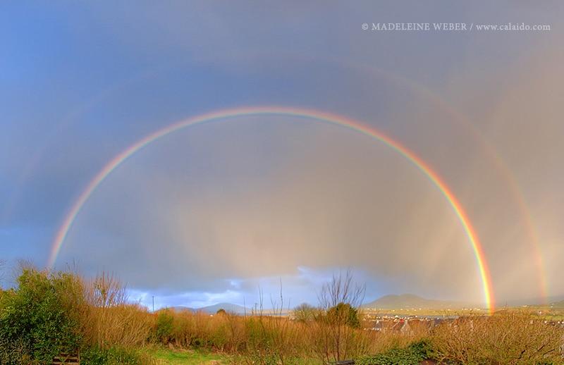 Den Regenbogen fotogrfieren