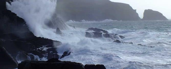 Irland SturmOphelia