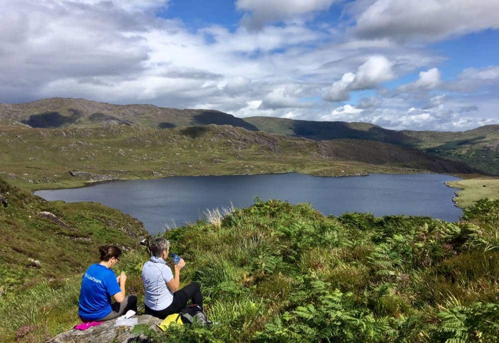Wanderlust Irland Weite Berge