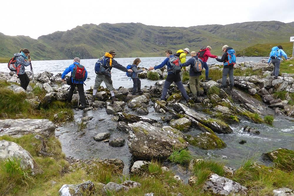 Wanderlust Irland Wandergruppe Zusammenhalt