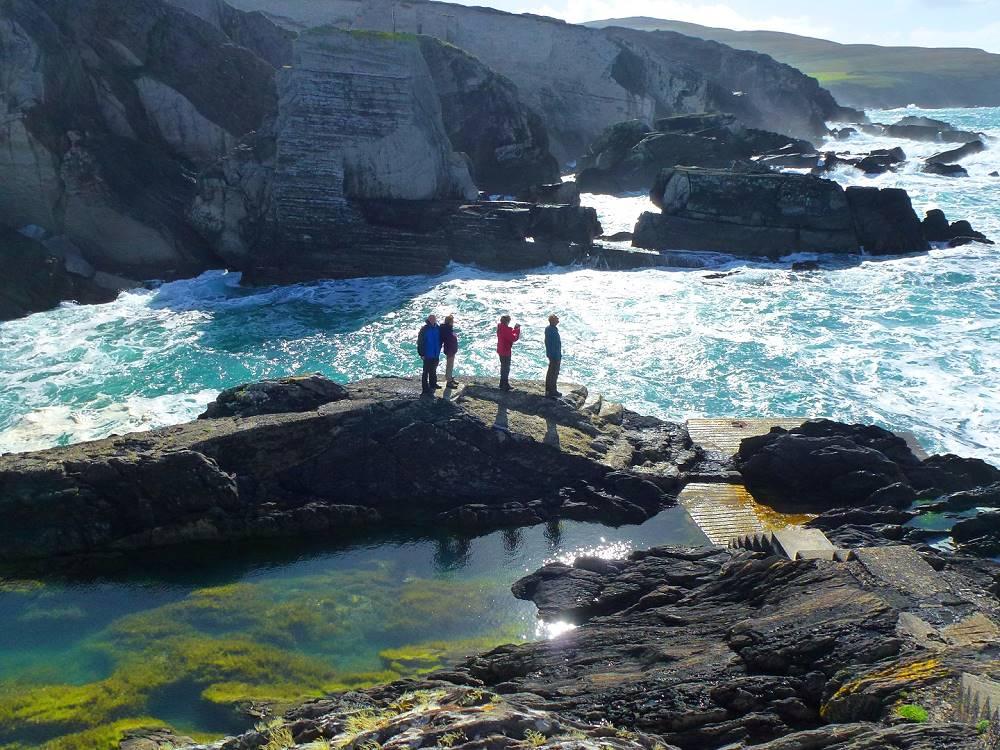 Wanderlust Irland Klippen
