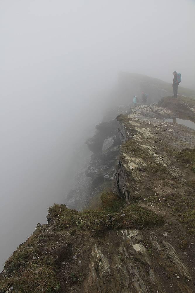 Wanderlust Irland Wandern Nebel