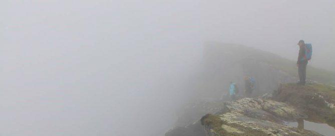 Irland Wandern Wanderlust Nebel