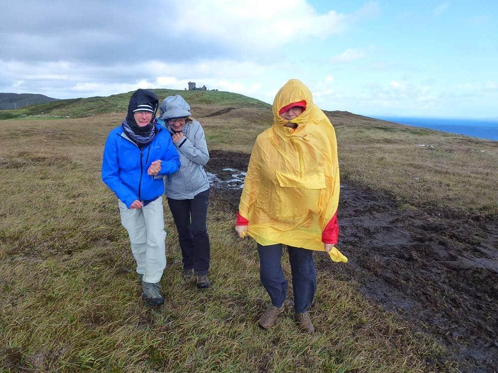 Wanderlust Irland Wandern im Wind