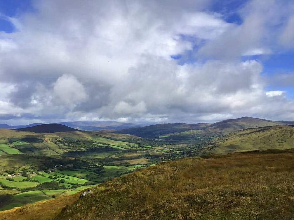 Irland Wanderlust Ausblick