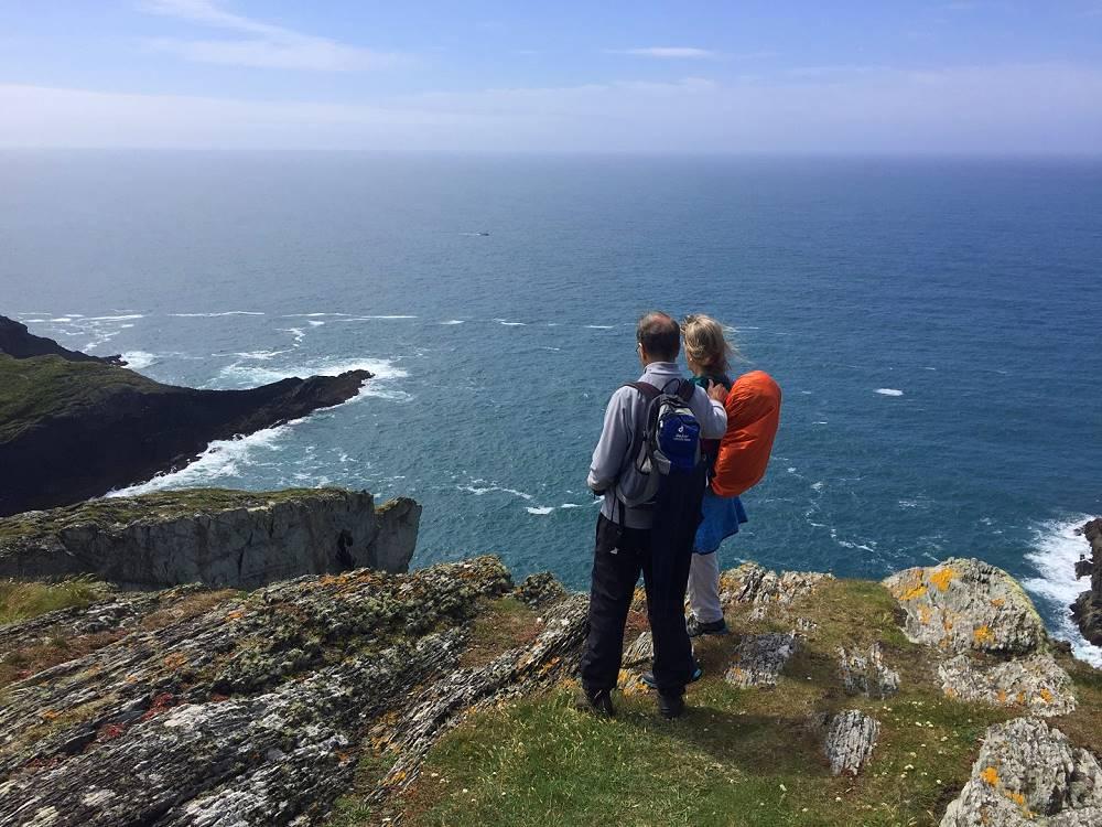 Wanderlust Irland Ausblick am Atlantik