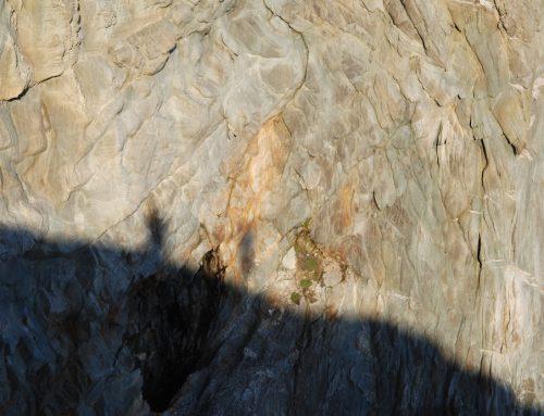 Wenn wir in den Felsen-Bildern Irlands versinken