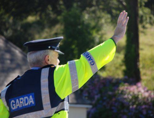 Irlands Polizei wünscht einen segensreichen Morgen