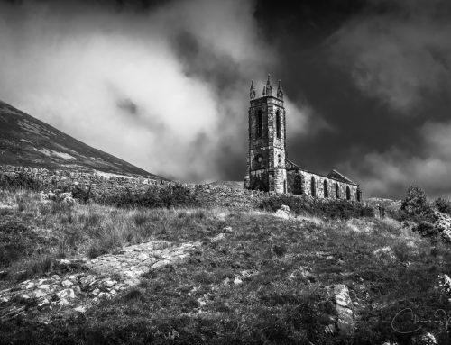 Irland in Schwarz-Weiß – Dunlewey, Donegal