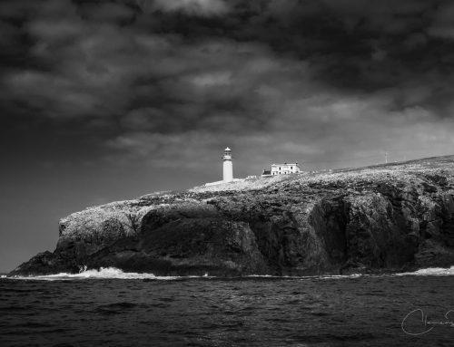 Irland in Schwarz-Weiß: Irlands Leuchttürme