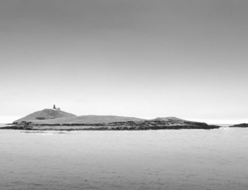 Irland in Schwarz-Weiß: Ballycotton Lighthouse, Co. Cork