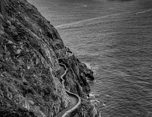 Irland in Schwarz-Weiß: Skellig Inseln