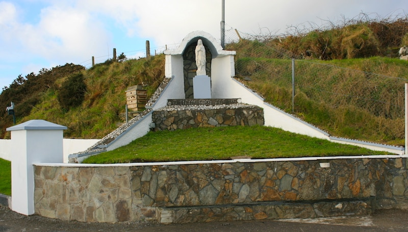 Marienfigur Irland