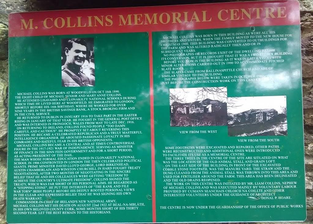 Stille Orte Irlands - Michael Collins Centre - Heike Bartel