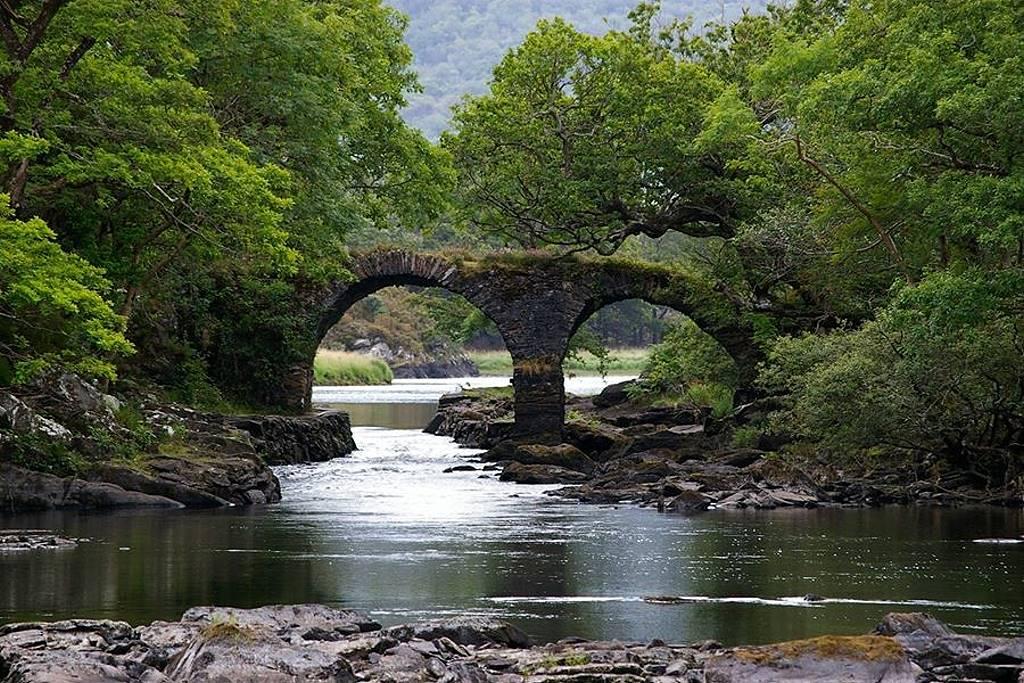 Stille Orte Irlands - Old Weir Bridge Klaus Schiller