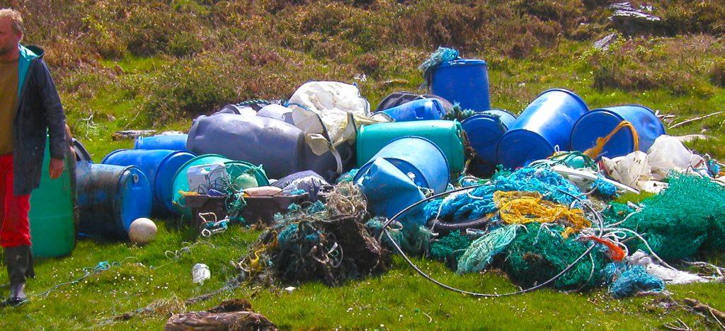 Irland Plastikmuell
