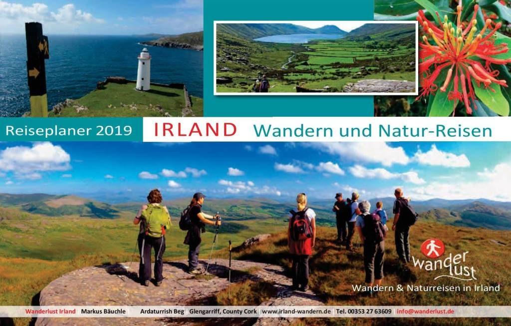 Wanderlust Irland Reiseplaner 2019