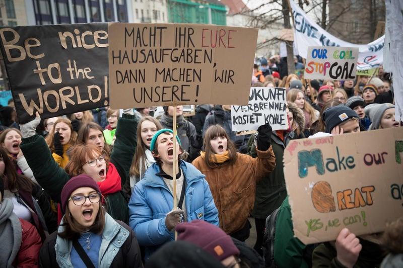 Schülerstreiks Irland