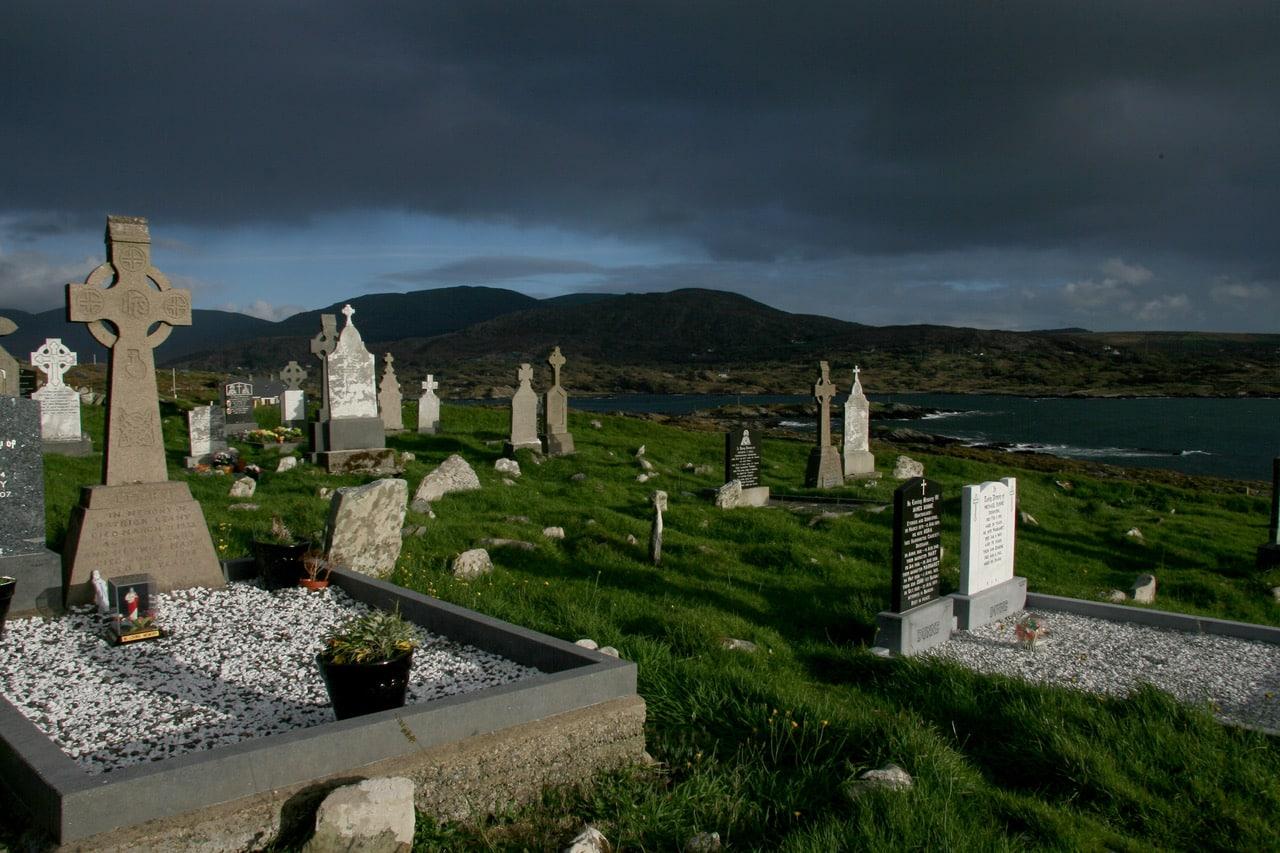 Stille Orte Irlands - Kilcathrine Graveyard