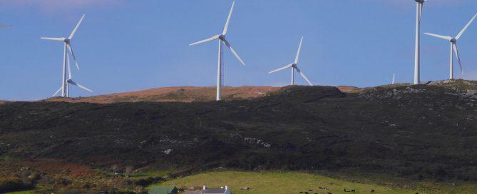 Windfarm irland