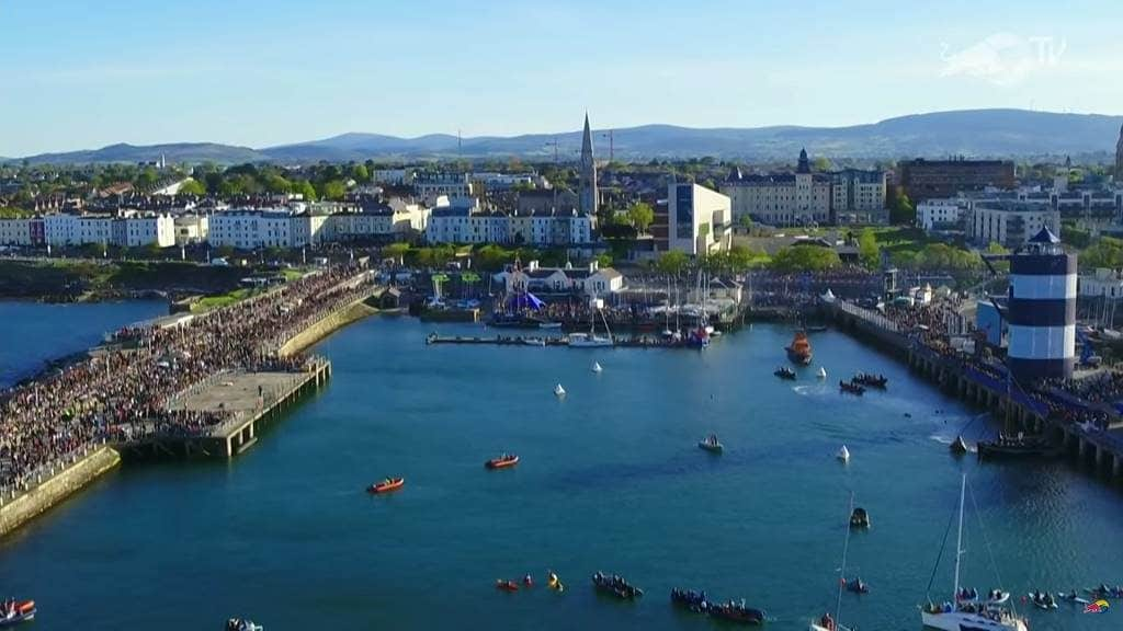 Irlandnews Irland TV-Tipp, Red Bull Cliff Diving Dublin