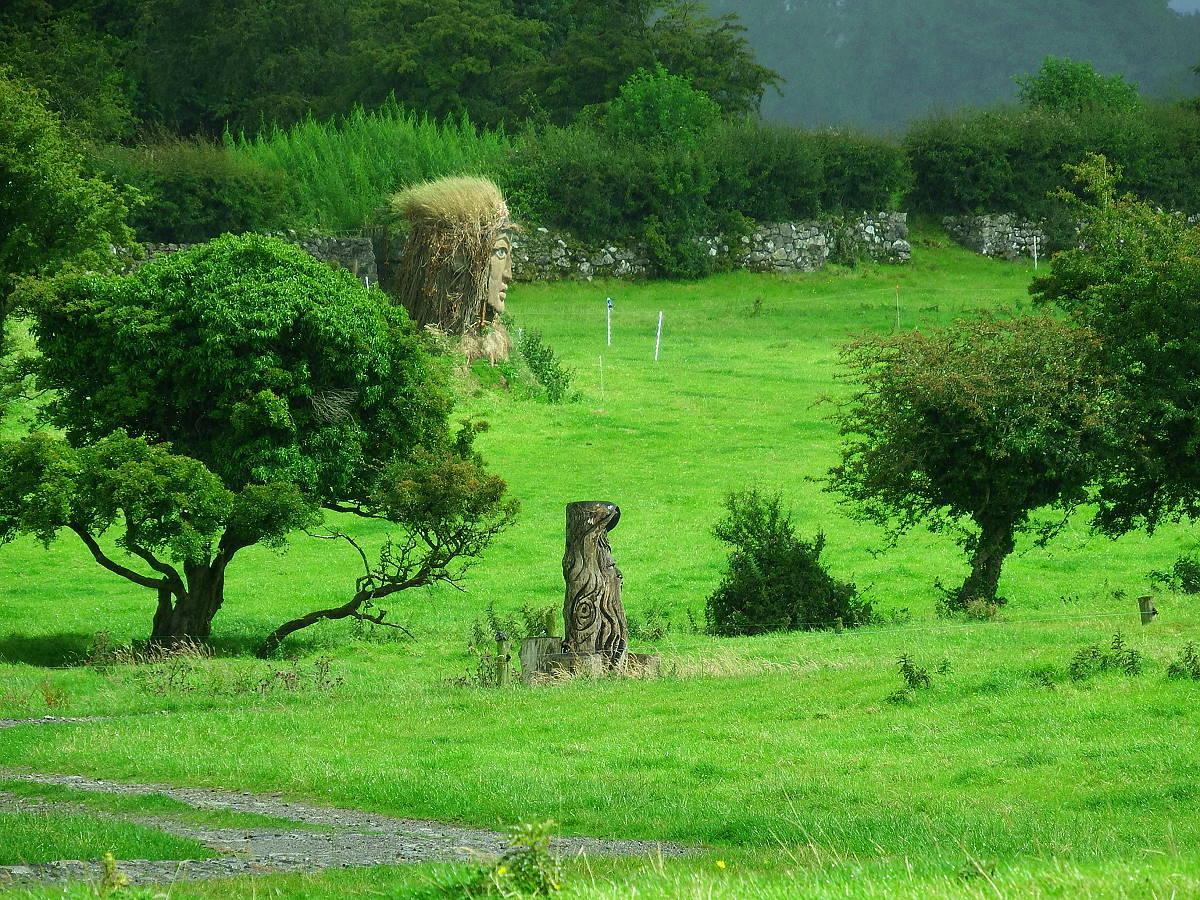 Stille Orte Irlands - Hill of Uisneach